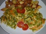 Zapékané fazolky s mrkví recept