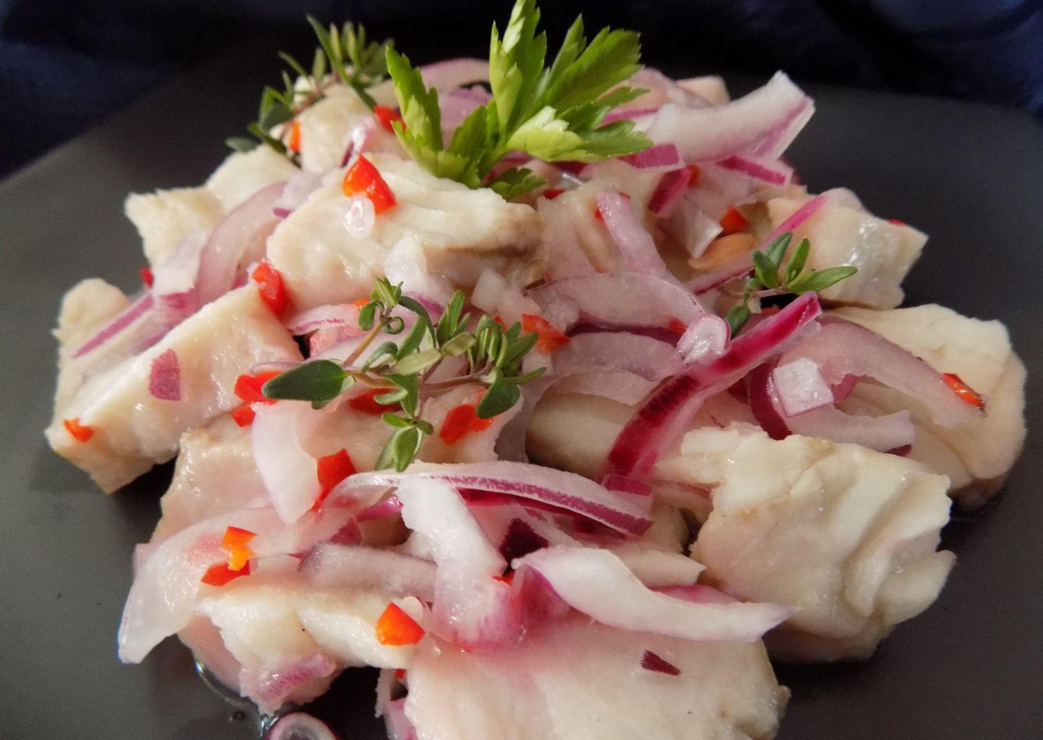 Ryba vařenáv limetkách recept