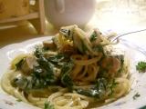 Špagety s gorgonzolovou omáčkou a špenátem recept ...