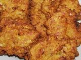 Květákové placičky s uzeným masem recept