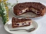 Čokodrobenkový koláč recept