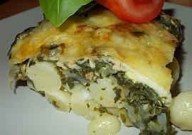 Zapečené gnocchi s lososem, špenátem a lilkem recept ...
