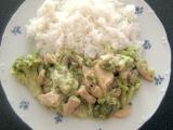 Kuřecí prsa s brokolicí a sýrem recept