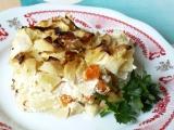 Gratinované brambory s cuketou a mrkví recept
