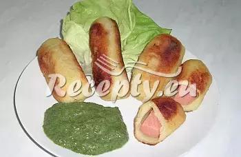 Turecké brambory recept  přílohy