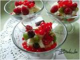 Krupice s vanilkovou smetanou a ovocem recept