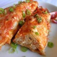 Enchiladas s kuřecím masem recept