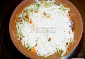 Špagety zapečené se sýrem