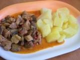 Vepřové maso na maďarský způsob recept