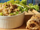 Salát z pečeného kuřete recept