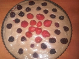 Vanilkovo-čokoládový pudinkový dortík recept