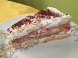 Nepečený tvarohovo-termixový dort s ovocem recept