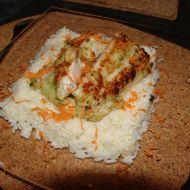 Okoun na rýžovém polštářku recept