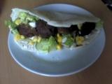 Falafel v pitta chlebu recept