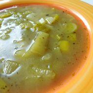 Jemná pórková polévka s brambory recept