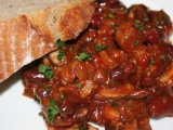 Rychlý fazolový guláš recept