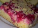 Rybízovo-jablečný koláč s tvarohem a pudingem recept ...