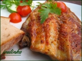 Makrela pečená na mramorové desce recept