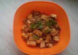 Pohanka s uzeným tofu recept