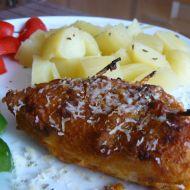 Kuřecí maso plněné nivou recept