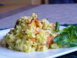 Jáhly s mrkví, kedlubnem a tofu recept