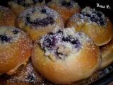 Borůvkové koláče recept