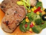 Steaky z vepřové panenky se zeleninou recept