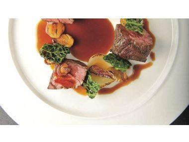 Flap steak s Périgourdine a houbami