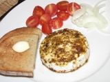 Hermelín pod grilem recept