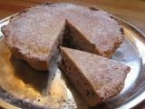 Kokosovotvarohový koláč s brusinkami recept