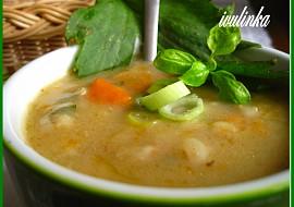 Polévka z libečku s kroupami recept
