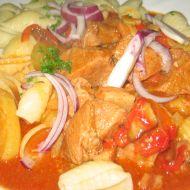 Srbský gulášek recept