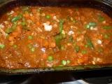 Hovězí guláš v troubě se zeleninou. recept