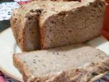 Celozrnný chleba recept