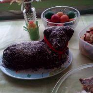 Piškotové těsto na velkého velikonočního beránka recept