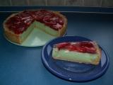 Jahodový koláč s pudinkovo-tvarohovou náplní recept  TopRecepty ...