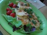 Smetanové zapečené brambory s bylinkama a kořením recept ...