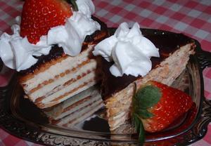 (nejen) Jahodovo-tvarohový dezert z máslových sušenek  Recepty ...