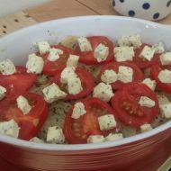 Fenykl zapečený s rajčaty recept
