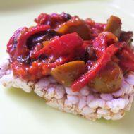 Horký paprikový salát recept