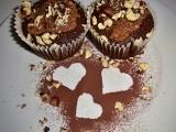 Hruškové muffiny s mléčným karamelem a lískovými oříšky recept ...