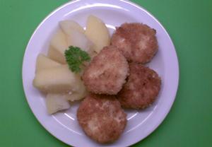 Celer s taveným šunkovým sýrem