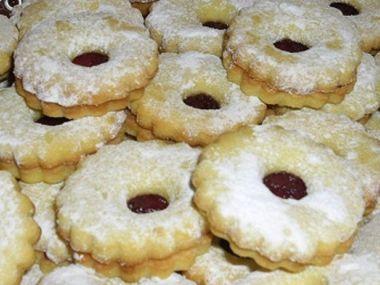 Linecké vánoční cukroví