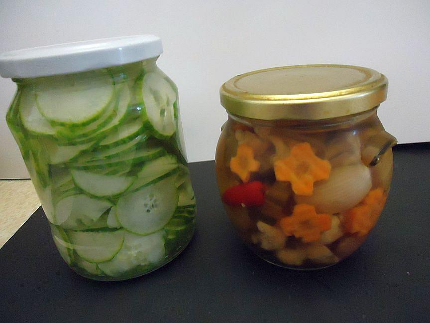 Okurky a zelenina nakládané po vietnamsku recept