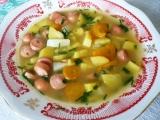 Frankfurtská polévka II. recept
