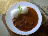 Hovězí roštěnec s fazolemi recept