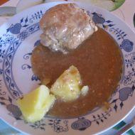 Králík pečený na česneku recept