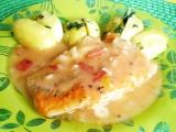 Filety z mořských ryb na rajčatech recept
