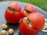 Rajčata s cizrnovým salátem recept