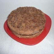 Čokoládový dort s domácí pařížskou šlehačkou recept